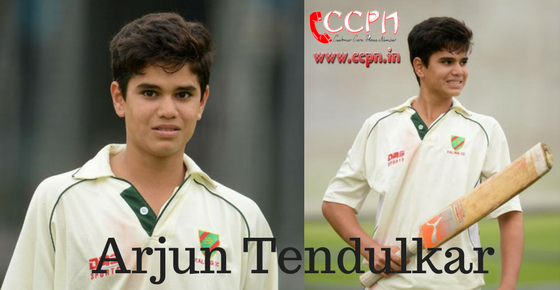 How to Contact Arjun Tendulkar