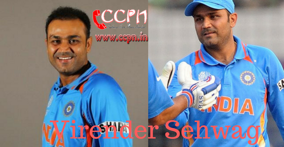How to Contact Virender Sehwag