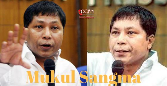 Mukul Sangma HD Image