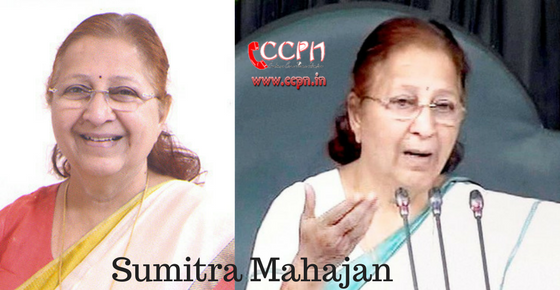 How to Contact Sumitra Mahajan