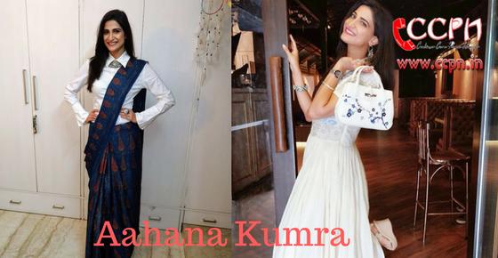 How to Contact Aahana Kumra