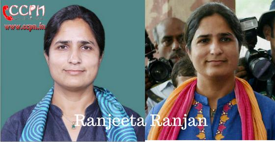 How to Contact Ranjeeta Ranjan