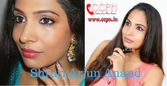 How to Contact Shruti Arjun Anand