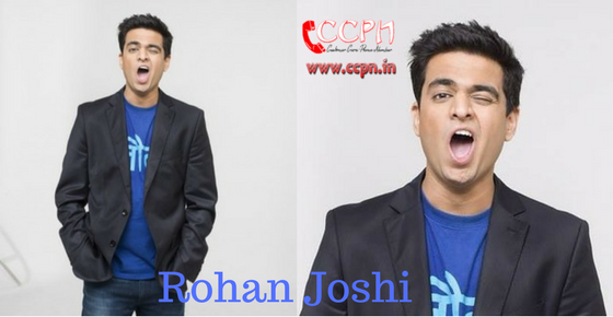 How to Contact Rohan Joshi