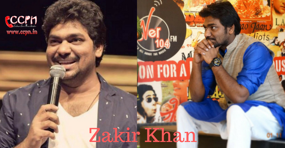 How to Contact Zakir Khan
