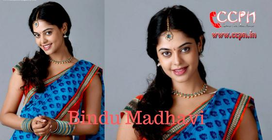 Bindu Madhavi Image