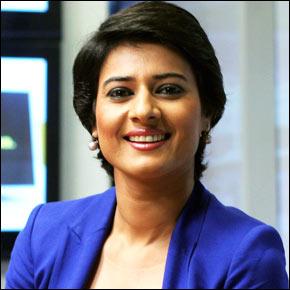 How to contact News Anchor Shaili Chopra?