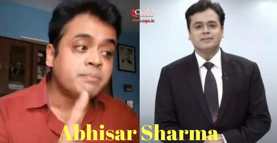 How to contact Abhisar Sharma?