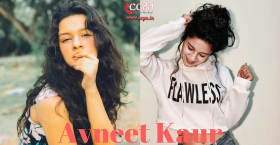 Contact Actress and Model Avneet Kaur