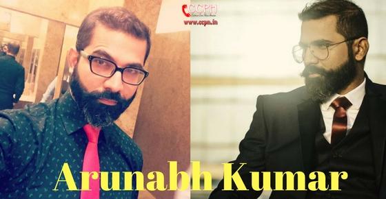 Arunabh Kumar (Qtiyapa Guy) Contact Details