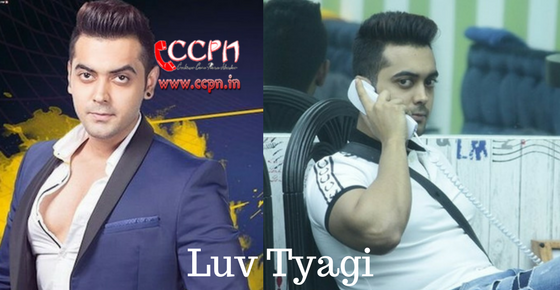 Luv Tyagi HD Image
