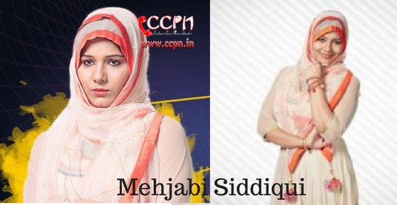 Mehjabi Siddiqui HD Image