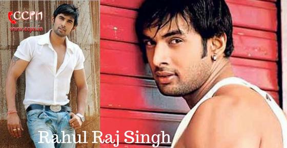 Rahul Raj Singh HD Image