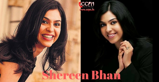How to contact Shereen Bhan?