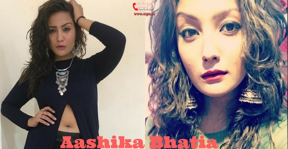 How to contact Aashika Bhatia?
