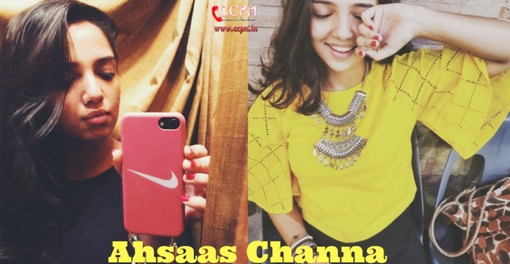 How to contact Ahsaas Channa?
