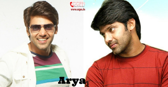 How to contact Actor Arya?