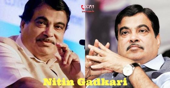 How to contact Nitin Gadkari?