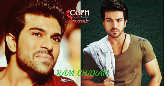 How to contact Actor Ram Charan?