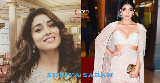 How to contact Actress Shriya Saran?