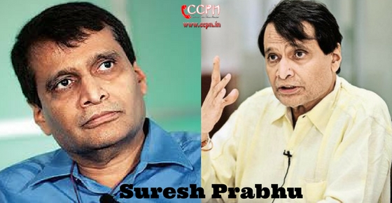 How to contact Suresh Prabhu?