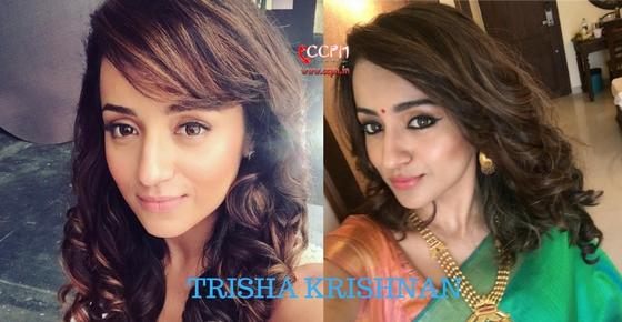How to contact Actress Trisha Krishnan?
