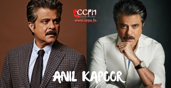 How to contact Anil Kapoor?
