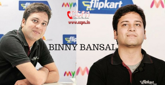How to contact Binny Bansal?