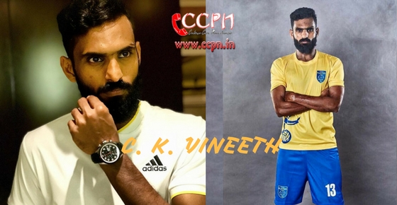 How to contact C. K. Vineeth?
