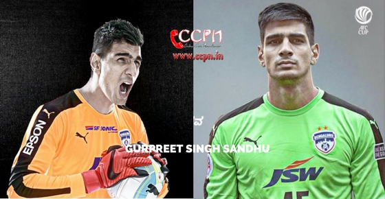 How to contact Goalkeeper Gurpreet Singh Sandhu?