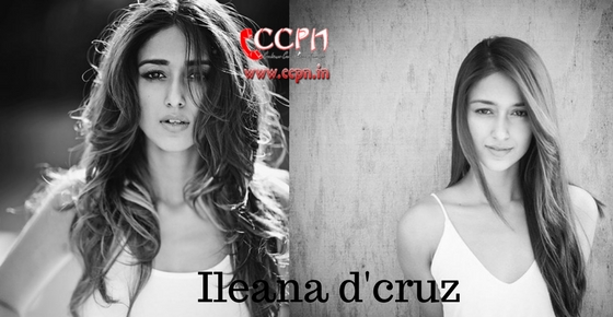 How to contact Ileana d'cruz?