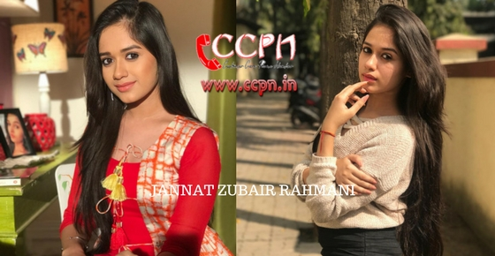 How to contact Jannat Zubair Rahmani?