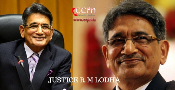 How to contact Justice R. M. Lodha?