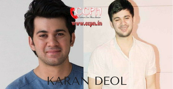 How to contact Karan Deol?
