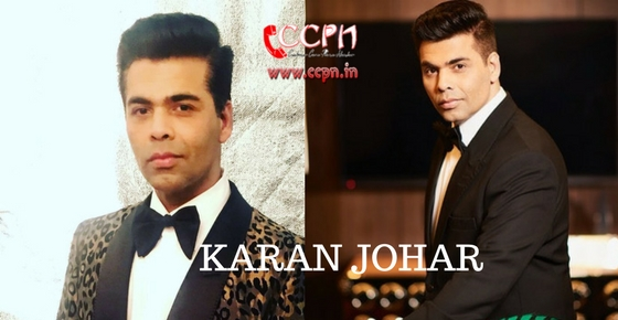 How to contact Karan Johar?