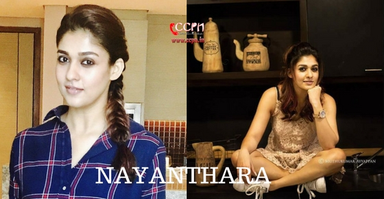 How to contact Actress Nayanthara?