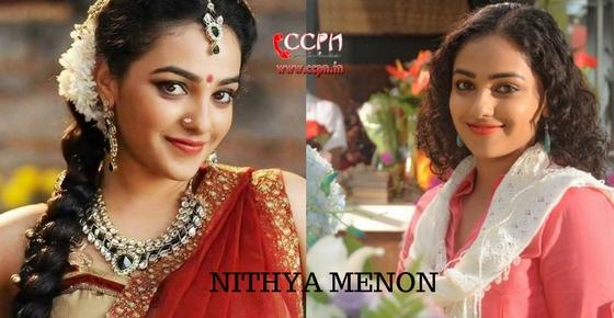 How to contact Actress Nithya Menon?