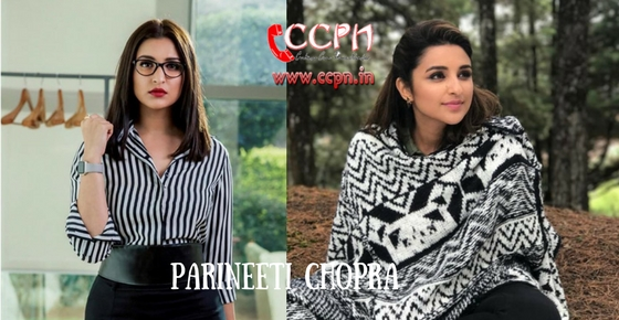 How to contact Parineeti Chopra?