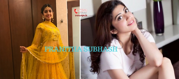 How to contact Actress Pranitha Subhash?