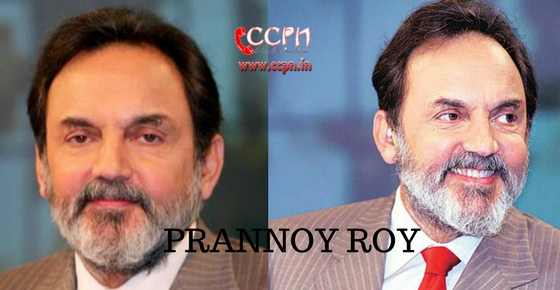How to contact Prannoy Roy?