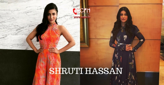 How to contact Actress Shruti Hassan?