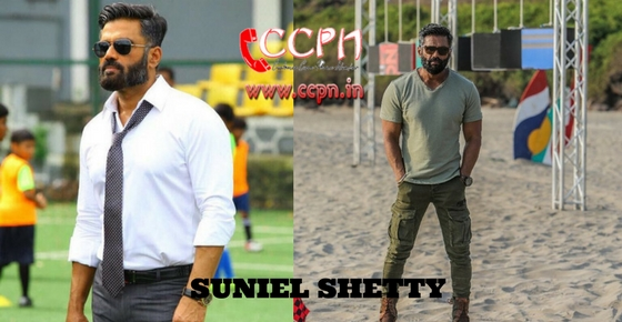 How to contact Suniel Shetty?