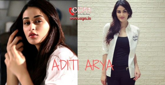 How to contact Model Aditi Arya?