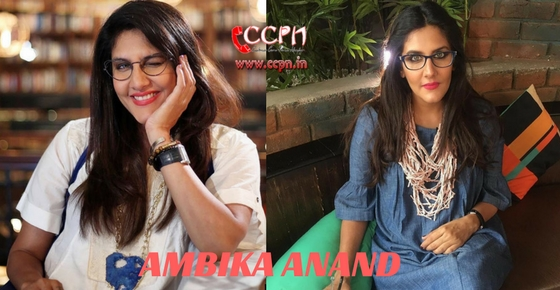 How to contact Ambika Anand?