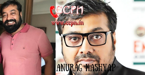 How to contact Anurag Kashyap?