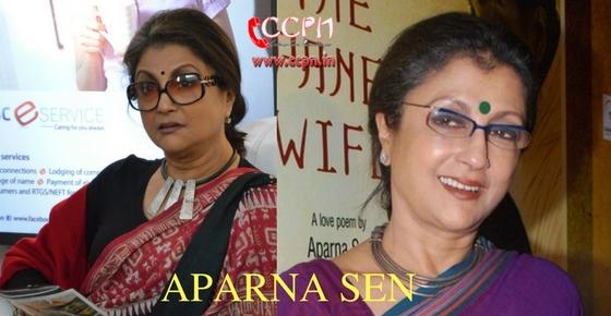 How to contact Aparna Sen?