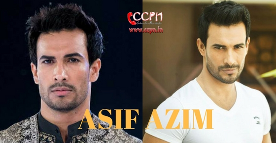 How to contact Model Asif Azim?