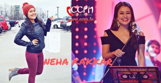 How to contact Neha Kakkar?