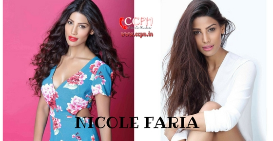 How to contact Model Nicole Faria?