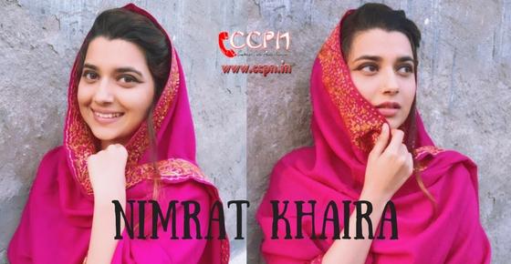 How to contact Nimrat Khaira?